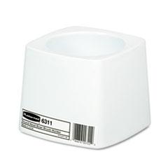 Rubbermaid® Commercial Holder for Toilet Bowl Brush, White Plastic