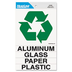 Headline® Sign Self-Stick Recycled Combo Decal Thumbnail