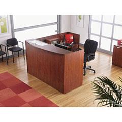 Alera® Valencia™ Series Reception Desk with Transaction Counter