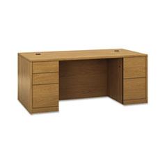 HON® 10500 Series™ Double Pedestal Desk with Full Pedestals Thumbnail