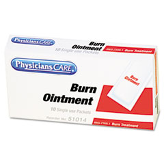 First Aid Kit Refill Burn Cream Packets, 12/Box