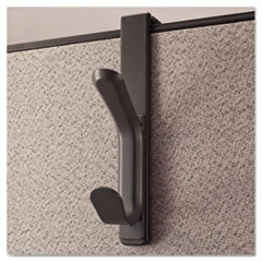 Universal® Deluxe Recycled Plastic Cubicle Coat Hook Thumbnail
