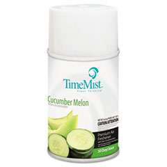 TimeMist® Metered Fragrance Dispenser Refill, Cucumber Melon, 6.6 oz, Aerosol TMS1042677EA