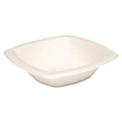 Dart® Bare Eco-Forward Sugarcane Dinnerware, 12oz Bowl, Ivory, 125/Pk