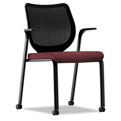 HON® Nucleus® Series Multipurpose Stacking Chair with ilira®-Stretch M4 Back Thumbnail