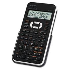 Sharp® EL-531XBWH Scientific Calculator, 12-Digit LCD