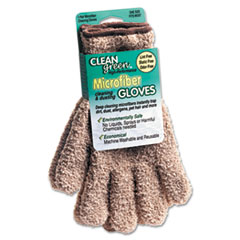 Master Caster® CleanGreen™ Microfiber Dusting Gloves Thumbnail