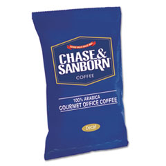 Chase & Sanborn® Coffee, Decaf, 1.25oz Packets, 42/Box