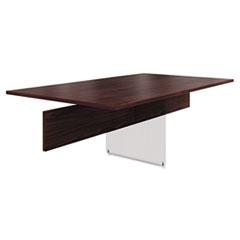 HON® Preside Adder Table Top, 72 x 48, Mahogany