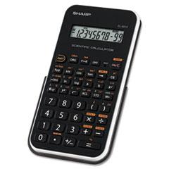 Sharp® EL-501XBWH Scientific Calculator, 10-Digit LCD
