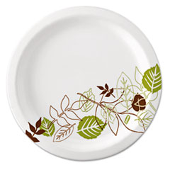 "Dixie® Ultra® Pathways Soak Proof Shield Heavyweight Paper Plates, WiseSize, 10 1/8"", 500/Ctn"