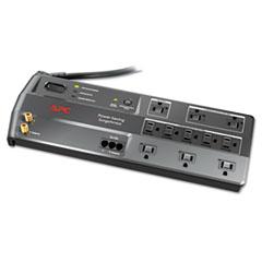 APC® SurgeArrest Surge Protector, 11 Outlets, 6 ft Cord, 3400 Joules, Black