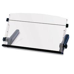 3M™ In-Line Freestanding Copyholder, Plastic, 300 Sheet Capacity, Black/Clear