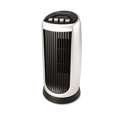 Bionaire™ Personal Space Mini Tower Fan, Two-Speed, Black/Silver