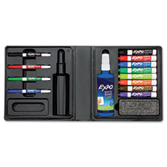 EXPO® Low-Odor Dry Erase Marker, Eraser and Cleaner Kit Thumbnail