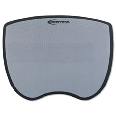 Innovera® Ultra Slim Mouse Pad, Nonskid Rubber Base, 8-3/4 x 7, Gray