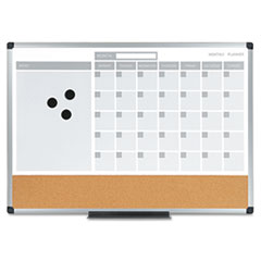 MasterVision® 3-in-1 Planner Board Thumbnail