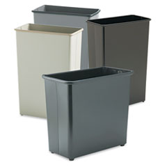 Safco® Square and Rectangular Wastebasket