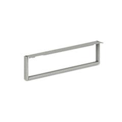 HON® Voi O-Leg Support for Low Credenza, 30d x 7h, Platinum Metallic