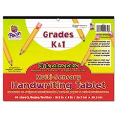 Pacon® Multi-Sensory Handwriting Tablet, 10-1/2 x 8, 40 Sheets/Pad
