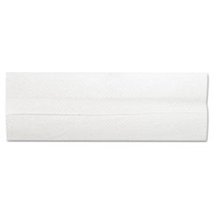 "General Supply C-Fold Towels, 10.13"" x 11"", White, 200/Pack, 12 Packs/Carton"