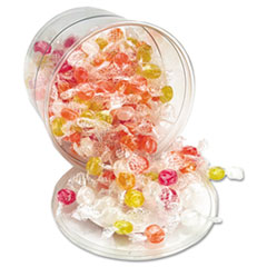 Office Snax® Sugar-Free Hard Candy Assortment, Individually Wrapped, 160-Pieces/Tub