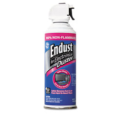 Endust® Non-Flammable Duster with Bitterant, 10 oz Can