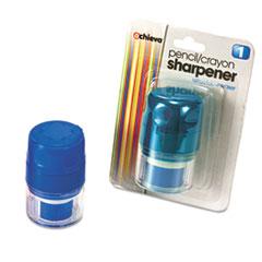 Officemate Twin Pencil/Crayon Sharpener w/Cap Thumbnail