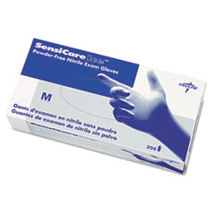 Medline Sensicare® Ice Nitrile Exam Gloves