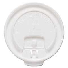Dart® Lift Back & Lock Tab Cup Lids For Trophy® Insulated Thin-Wall Foam Hot/Cold Cups