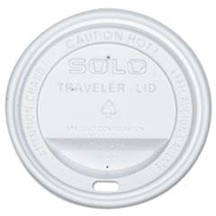 Dart® Traveler Drink-Thru Lid, White, 300/Carton