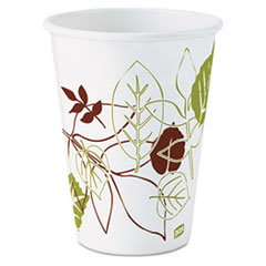 Dixie® Pathways Paper Hot Cups, 12oz, 1000/Carton