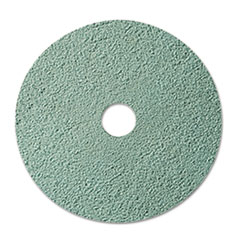 "3M™ Burnish Floor Pad 3100, 20"" Diameter, Aqua, 5/Carton"