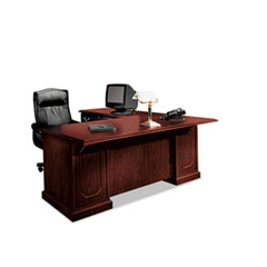 DMi® Furniture Andover Collection Single Pedestal Desk