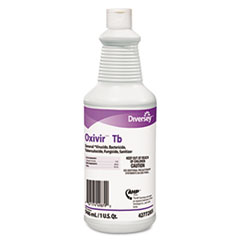 Diversey™ Oxivir TB One-Step Disinfectant Cleaner, 32oz Bottle, 12/Carton