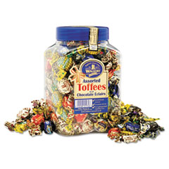 Walker's Nonsuch® Assorted Toffee, 2.75 lb Plastic Tub