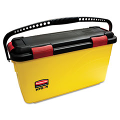 Rubbermaid® Commercial HYGEN™ HYGEN Charging Bucket, Yellow