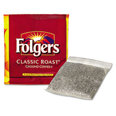 Folgers® Coffee Filter Packs, Regular, In-Room Lodging, .6oz, 200/Carton