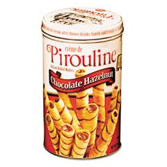De Beukelaer Chocolate Hazelnut Pirouline Rolled Wafers, 14oz