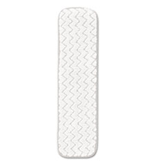 "Rubbermaid® Commercial Dry Room Pad, Microfiber, 18"" Long, White, 12/Carton"