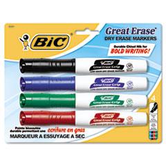 BIC® Great Erase® Grip Chisel Tip Dry Erase Marker Thumbnail