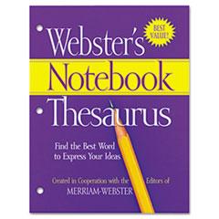 Advantus® Webster's Notebook Thesaurus