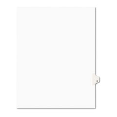Avery® Avery-Style Legal Exhibit Side Tab Divider, Title: 44, Letter, White, 25/Pack