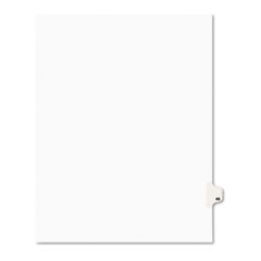 Avery® Avery-Style Legal Exhibit Side Tab Divider, Title: 46, Letter, White, 25/Pack