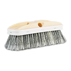 "Boardwalk® Polystyrene Vehicle Brush w/Vinyl Bumper, 2 1/2"" Bristles, 10"" Brush"