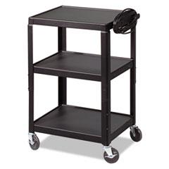 BALT® Adjustable Steel Utility Cart, 24w x 18d x 26 to 42h, Black