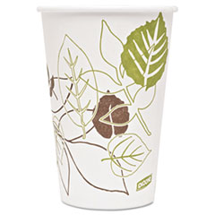 Dixie® Pathways Paper Hot Cups, 16oz, 1000/Carton