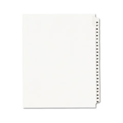 Avery-Style Legal Exhibit Side Tab Divider, Title: