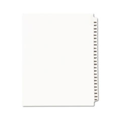 Avery® Avery-Style Legal Exhibit Side Tab Divider, Title: 326-350, Letter, White