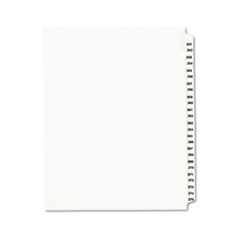 Avery® Avery-Style Legal Exhibit Side Tab Divider, Title: 351-375, Letter, White